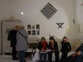 Open Studios/Offene Ateliers. Atelierhaus im Hinterhof, Schoenhauser Allee, Berlin, Germany. Mit Ute Karnopp, Sylvia Christina Haendel, Carola Ruemper u.a.