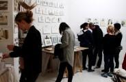 Lange Nacht der Illustration 2016, Berlin. Atelierhaus im Hinterhof. Atelier Sandra Schmidt, Arbeiten von Maren Schmitz und Sandra Schmidt