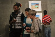 """Fragments in Fusion"" Exibithion, Sandra Schmidt, October 2015, FNCC Windhoek/Namibia"