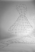 Cage Dresses / Käfigkleider (cotton bud dresses/Wattestäbchenkleider. Sandra Schmidt 2013/2014