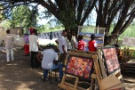 First Windhoek ART 'flea' Market, february 2016. Organized by Tina Schoenheit, Kirsten Wechslberger and Sandra Schmidt