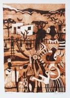 """Katatura Series"", Milk box print, 19cm x 27cm, Windhoek/Namibia 2015"