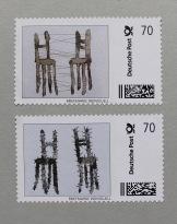 """Briefmarken, Sandra Schmidt (aus dem Projekt """"Stamp alive"""")"""