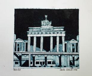 Berlin Radierung 2016