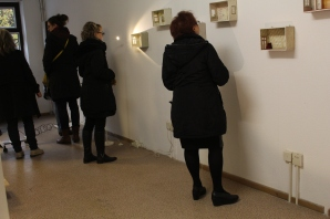 """""""Inbetween"""" Ausstellung im mp43. Vernissage am 5.11.2016"""