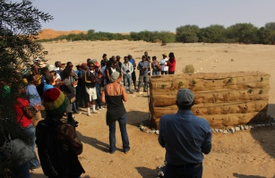 Tulipamwe International Artist Workshop 2015 / National Art Gallery of Namibia. Gobabeb / Namib desert. 23 International Artists working 2 Weeks in Gobabeb.