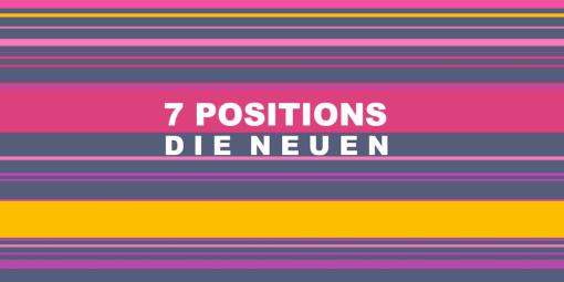7 Positions - die Neuen vorderseite